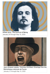 Alfred Jarry and Jean-Jacques Lequeu