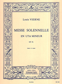 Messe Solennelle de Louis Vierne sheet music