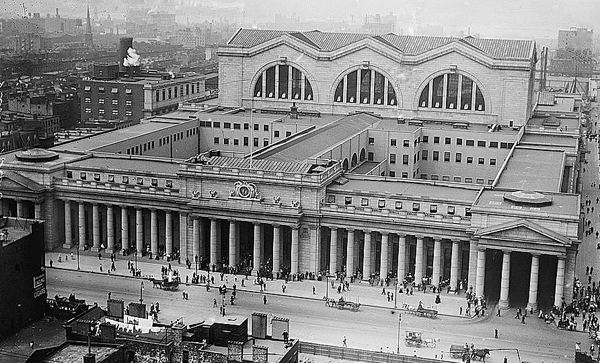 Penn Station NYC 1911